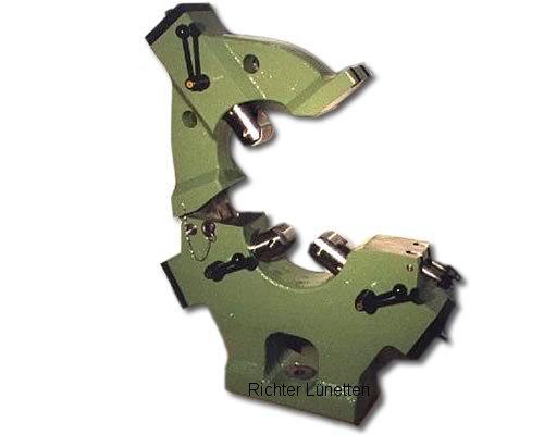 Lünette mit klappbarem Oberteil -, gebaut von H. Richter Vorrichtungsbau GmbH, Deutschland
