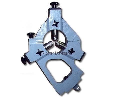 Mazak ST30 - Lünette mit klappbarem Oberteil für CNC-Drehmaschine, gebaut von H. Richter Vorrichtungsbau GmbH, Deutschland
