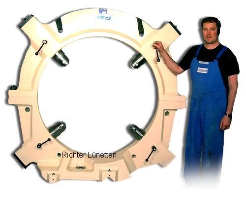- Lünette mit 4 Pinolen, gebaut von H. Richter Vorrichtungsbau GmbH, Deutschland