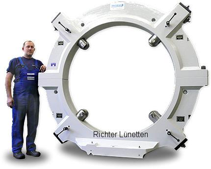 Geminis GHT-9-2000-62 - Lünette mit 4 Pinolen<br>elektronische Zentrieranzeige, gebaut von H. Richter Vorrichtungsbau GmbH, Deutschland