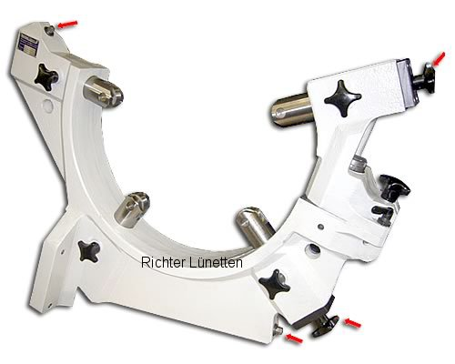 Mazak Integrex650E - C-Form Lünette mit schwenkbarem Oberteil, gebaut von H. Richter Vorrichtungsbau GmbH, Deutschland
