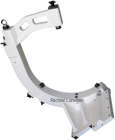 Mazak Integrex e-670 H2 - C-Form Lünette mit schwenkbarem Oberteil, gebaut von H. Richter Vorrichtungsbau GmbH, Deutschland