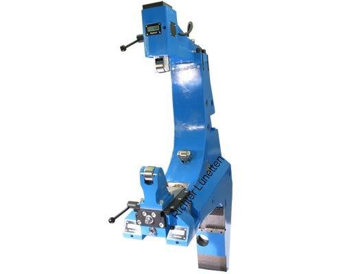 STS CNC-Drehmasch. PT117-12000 - C-Form Lünette mit schwenkbarem Oberteil und<br>Schlittenverstellung, gebaut von H. Richter Vorrichtungsbau GmbH, Deutschland