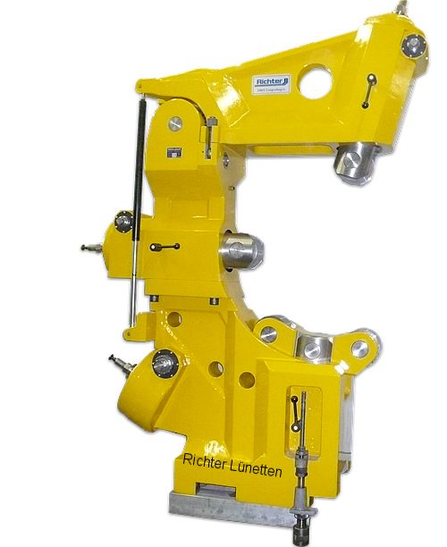 Tacchi H31 - C-Form Lünette mit nach oben aufklappbarem Oberteil, gebaut von H. Richter Vorrichtungsbau GmbH, Deutschland