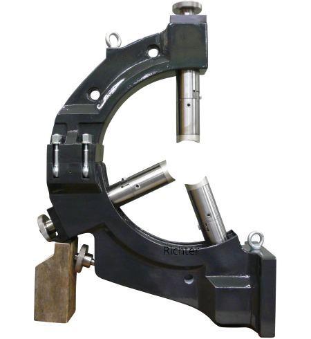 Mazak e650H-S II - C-Form Lünette mit abnehmbarem Oberteil, gebaut von H. Richter Vorrichtungsbau GmbH, Deutschland