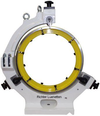 Weiler E70 - C-Form Lünette mit abnehmbarem Oberteil, gebaut von H. Richter Vorrichtungsbau GmbH, Deutschland