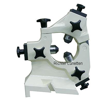 Fortuna UFD2500 - Geschlossene Schleiflünette mit<br>klappbarem Oberteil, gebaut von H. Richter Vorrichtungsbau GmbH, Deutschland