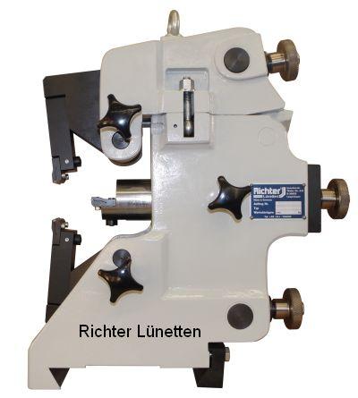 Klingelnberg-HNC 35 - C-Form Schleiflünette<br>mit klappbarem Oberteil, gebaut von H. Richter Vorrichtungsbau GmbH, Deutschland