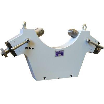 Vacuum spray coat machine - Rollenbock, gebaut von H. Richter Vorrichtungsbau GmbH, Deutschland