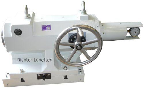 Reitstock mit untersetztem manuellen Antrieb, gebaut von H. Richter Vorrichtungsbau GmbH, Deutschland