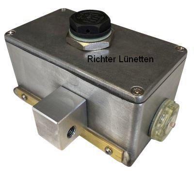 Ölspender zur externen Werkstückschmierung, gebaut von H. Richter Vorrichtungsbau GmbH, Deutschland