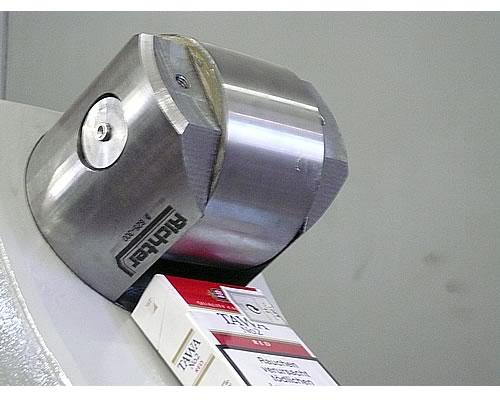 Richter-Laufrollen für Pinole und Hund, gebaut von H. Richter Vorrichtungsbau GmbH, Deutschland