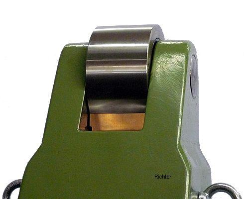 Pinole mit Abstreiferblech, gebaut von H. Richter Vorrichtungsbau GmbH, Deutschland