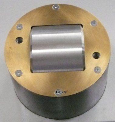 Mazak Integrex 650 H2 x 4000 - Pinole mit Abstreiferblech, gebaut von H. Richter Vorrichtungsbau GmbH, Deutschland