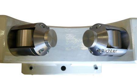 Weißmetallauflage - äußere Schmierung, gebaut von H. Richter Vorrichtungsbau GmbH, Deutschland