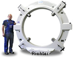 electronic centering display - option, construido por H. Richter Vorrichtungsbau GmbH, Alemania, thumbnail