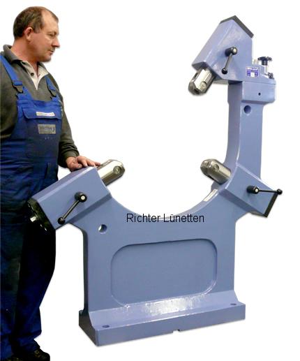 Pama - Luneta en forma de C - con parte superior rotable, construido por H. Richter Vorrichtungsbau GmbH, Alemania