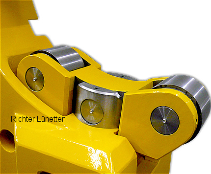 Tacchi H31 - Luneta en forma de C - con parte superior abatible, construido por H. Richter Vorrichtungsbau GmbH, Alemania