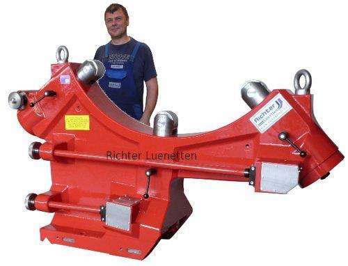 Caballete de rodillos, construido por H. Richter Vorrichtungsbau GmbH, Alemania