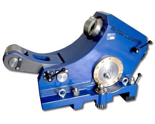 Wohlenberg UM1600 III - Caballete de rodillos brazo ajustable, construido por H. Richter Vorrichtungsbau GmbH, Alemania