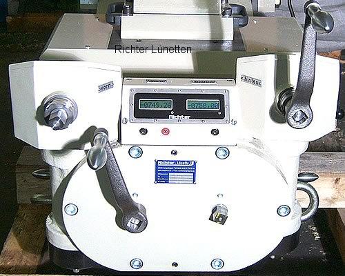 Heyligenstaedt KV-800-CNC - Caballete de rodillos con dos husillos y sistema de medición, construido por H. Richter Vorrichtungsbau GmbH, Alemania