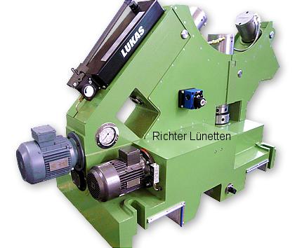 Soporte deslizante con lubricación con aceite a presión, construido por H. Richter Vorrichtungsbau GmbH, Alemania