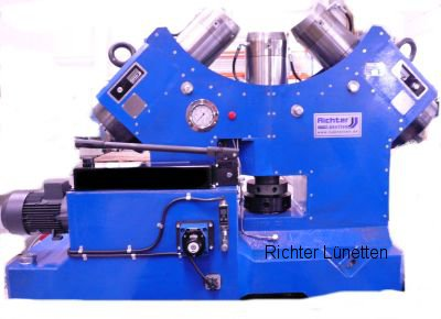 Niles - Soporte deslizante con lubricación con aceite a presión, construido por H. Richter Vorrichtungsbau GmbH, Alemania