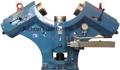 Bandagieranlage - Soporte deslizante con lubricación externo, construido por H. Richter Vorrichtungsbau GmbH, Alemania