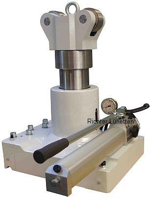Hornet Laser Cladding - Caballete desplazable arriba y abajo, construido por H. Richter Vorrichtungsbau GmbH, Alemania