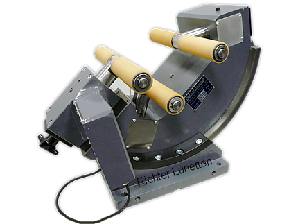 Wellenfräsmasch - Unidad tensora de cierre centralizado, construido por H. Richter Vorrichtungsbau GmbH, Alemania