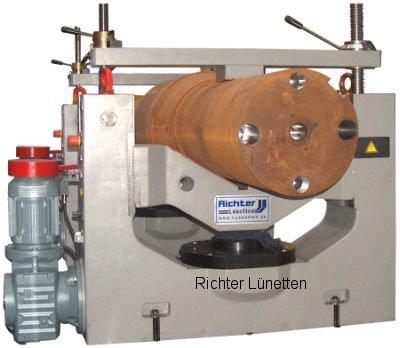 Wellenfräsmaschine - Unidades tensoras, construido por H. Richter Vorrichtungsbau GmbH, Alemania