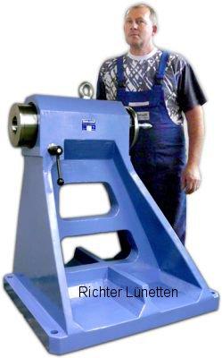 contracabezales con accionamiento manual directo, construido por H. Richter Vorrichtungsbau GmbH, Alemania