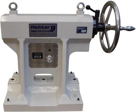 contracabezales con pantalla electrónica de fuerza de presión y suspensión para compensación de longitud, construido por H. Richter Vorrichtungsbau GmbH, Alemania