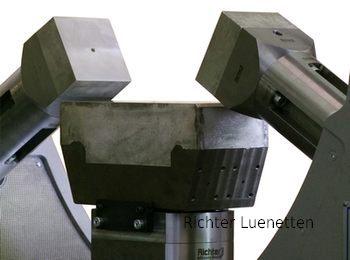 WFL Millturn M150 - Soporte revestido de metal antifricción y lubricacion interna, construido por H. Richter Vorrichtungsbau GmbH, Alemania