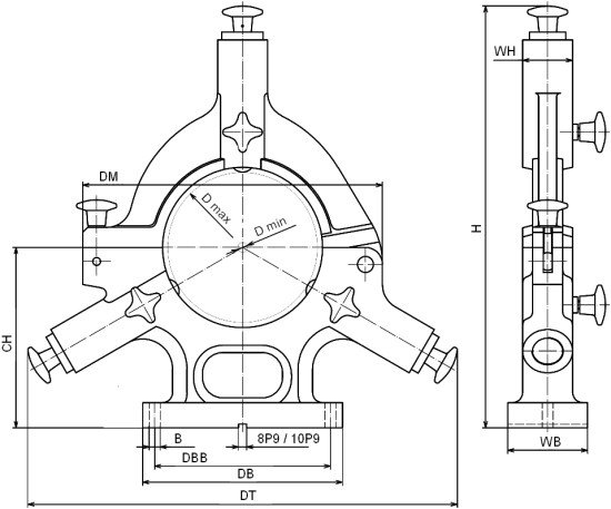 Standard - con parte superiore pieghevole, costruito da H. Richter Vorrichtungsbau GmbH, Germania