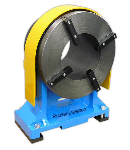 Foratrice GGB560 - Lunette ad anello<br>con serraggio disco portapezzo integrato, costruito da H. Richter Vorrichtungsbau GmbH, Germania