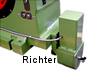 Moving the steady rest on the lathe bed, costruito da H. Richter Vorrichtungsbau GmbH, Germania, thumbnail