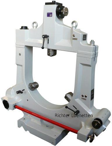 Boehringer DUS 1600 - Lunette de plus de 500 mm Ø avec excentrique de levage de pont, construit par H. Richter Vorrichtungsbau GmbH, Allemagne