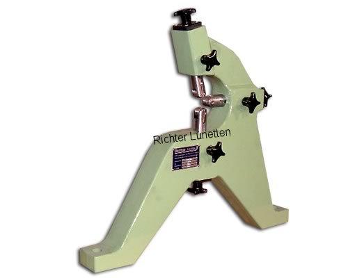 Lunette rotative avec 3 fourreaux, top mounting, construit par H. Richter Vorrichtungsbau GmbH, Allemagne