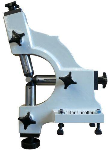 Monforts KNC 8 S - Lunette rotative avec 3 fourreaux, top mounting, construit par H. Richter Vorrichtungsbau GmbH, Allemagne