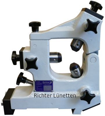 Lunette fermé avec la section supérieure articulée, construit par H. Richter Vorrichtungsbau GmbH, Allemagne