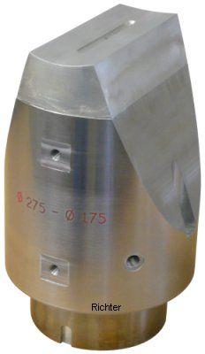 Richter® Revêtement en métal blanc - lubrification à l'huile sous pression interne, construit par H. Richter Vorrichtungsbau GmbH, Allemagne
